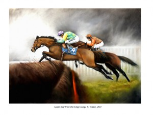 Print of Kauto Star and Long Run